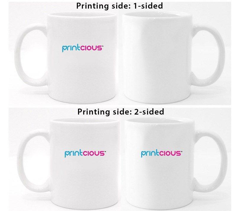 Magic Mug Printing Printing Side