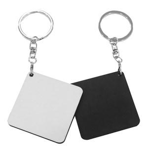 DIY Custom Keychain Printing - Wooden Keychains (Square)