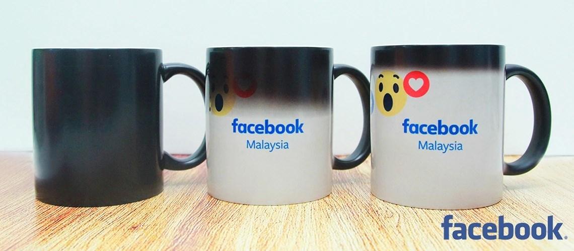 Facebook Magic Mug Printing