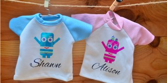 Customise Your Mini Tees as Gifts