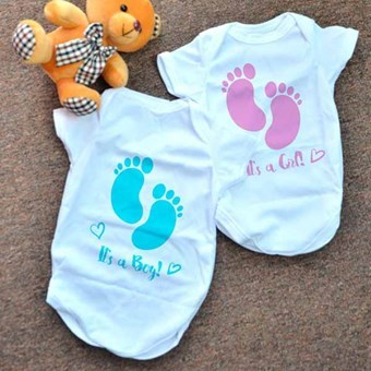 Customise Your Baby Rompers as Gifts