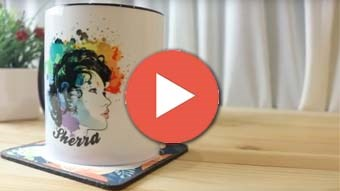 Use Printcious Online Design Tool to Customise Your Mug