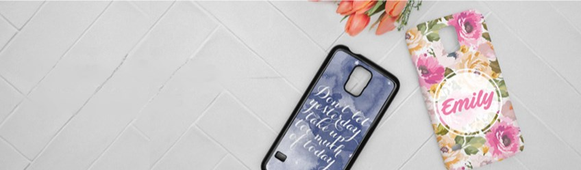 Create personalised phone cases online with Printcious.com using your digital photos.