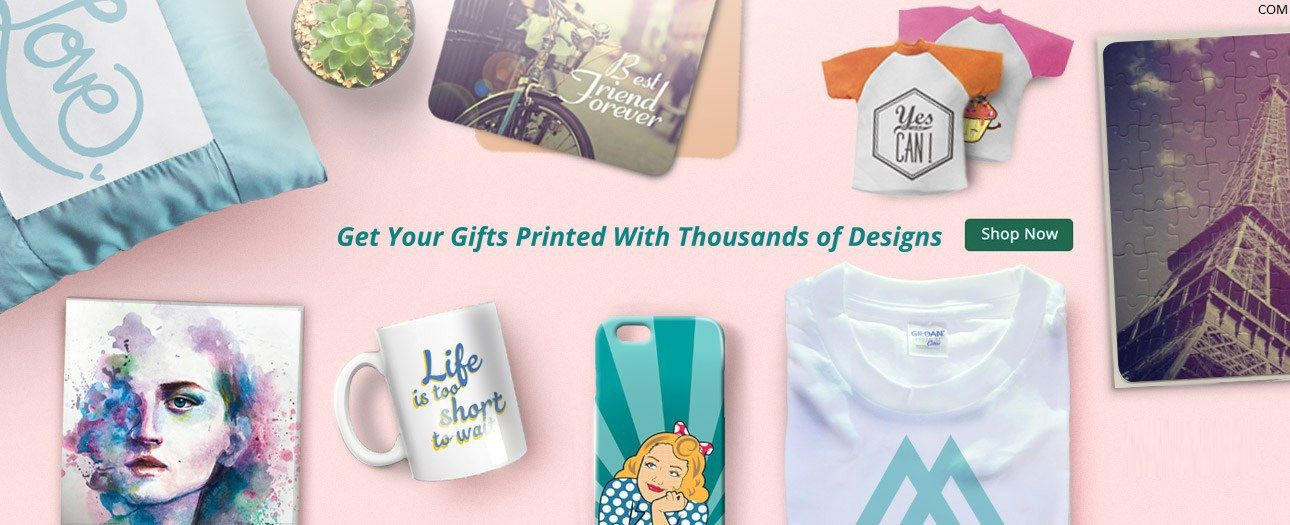 Buy a gift with a truly personal touch with more than thousands of unique designs and messages