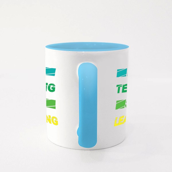 Keep Teaching Stay Learning Colour Mugs