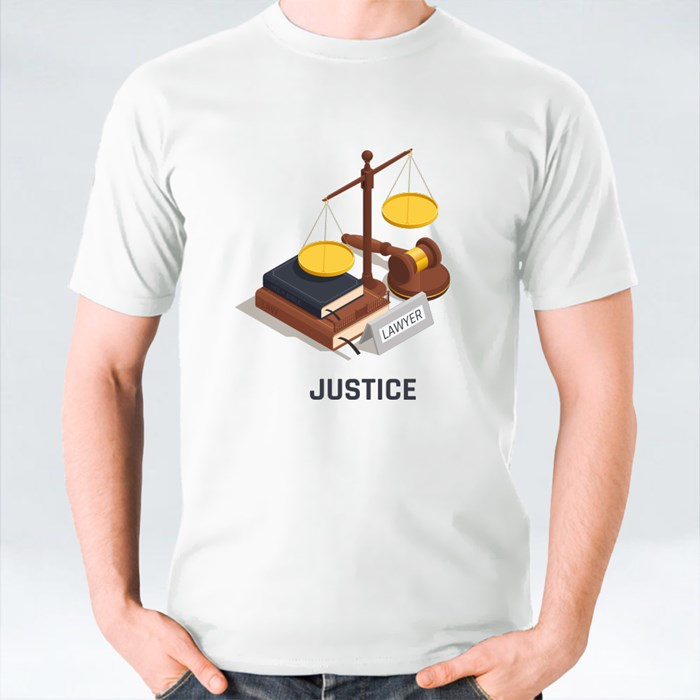 Bible and Scale of Justice T-Shirts