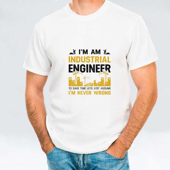I Am Industrial Engineer T-Shirts