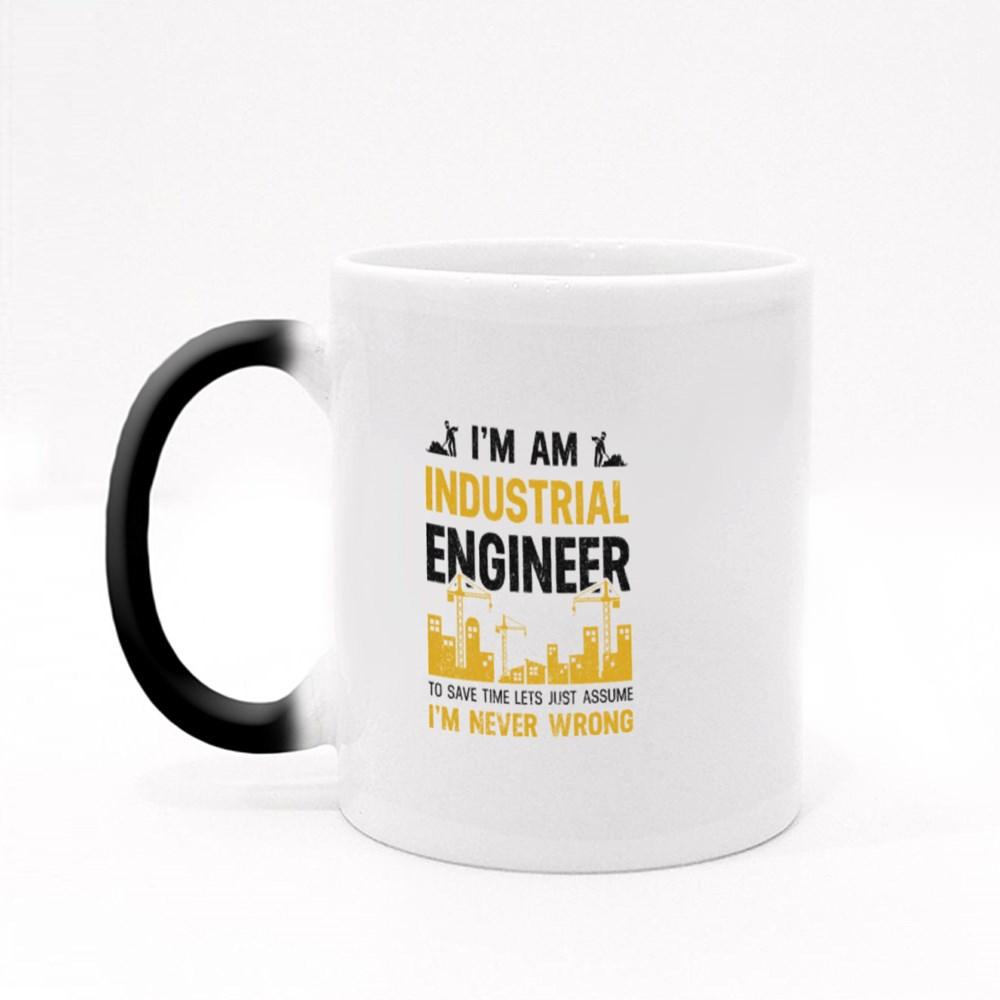 I Am Industrial Engineer Magic Mugs