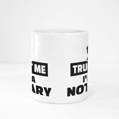 Trust Me I Am a Notary Magic Mugs