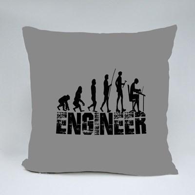 Evolution of Engineer Throw Pillows