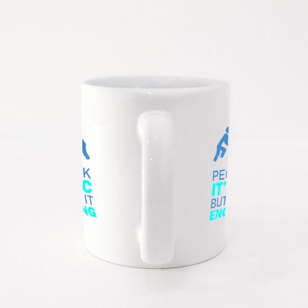 People Think It's Magic Colour Mugs