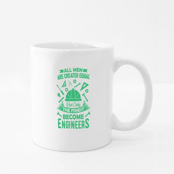 All Men Are Created Equal Colour Mugs