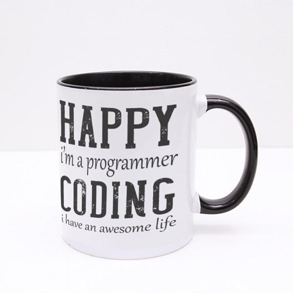 I'm a Programmer Colour Mugs