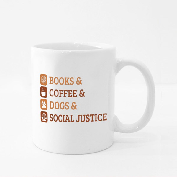 Social Justice and Others 彩色杯