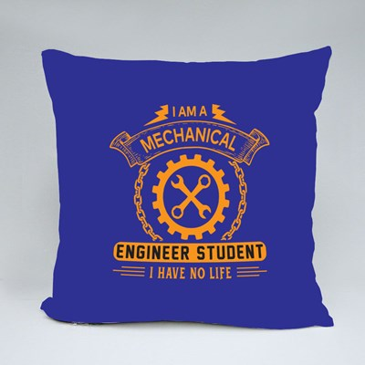 I Am a Mechanical Engineer Throw Pillows