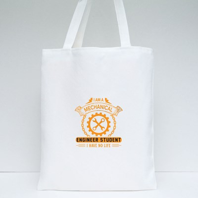 I Am a Mechanical Engineer Tote Bags