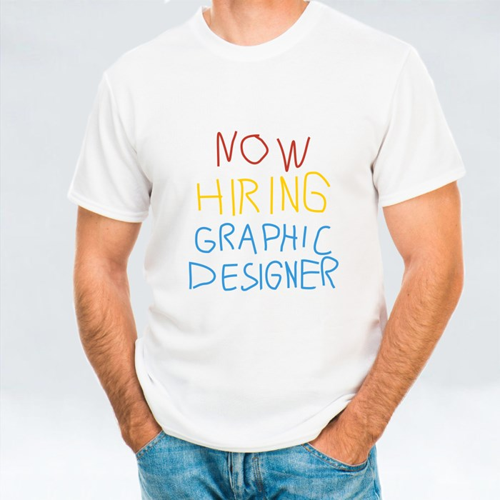 Now Hiring Graphic D. T-Shirts