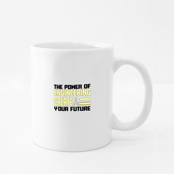 The Power of Engineering Colour Mugs