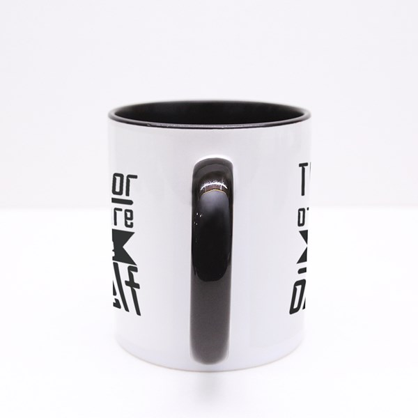 The Doctor of the Future Colour Mugs