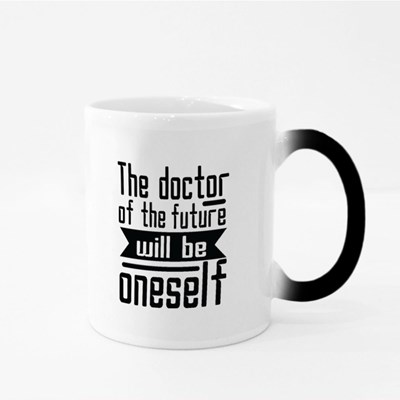 The Doctor of the Future Magic Mugs