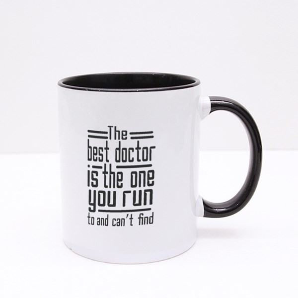 The Best Doctor Colour Mugs