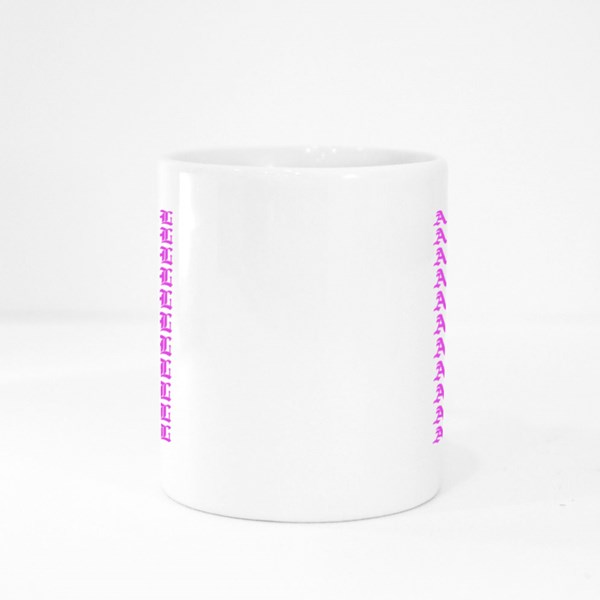 Women Face With Slogan Colour Mugs