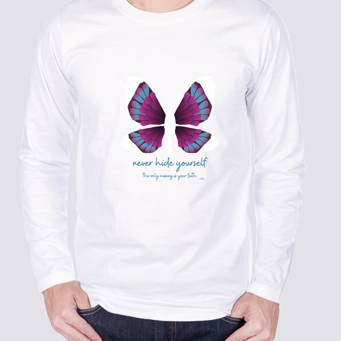 Faith in Butterfly Edition Long Sleeve T-Shirts