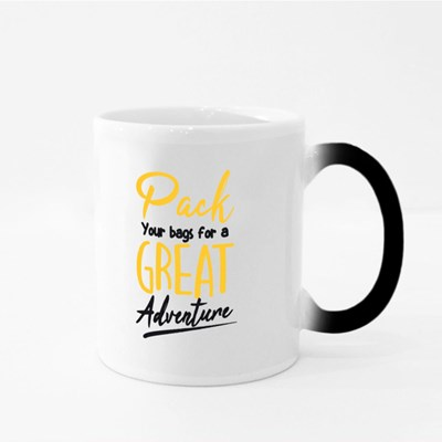 Pack Your Bags for Adventure Magic Mugs