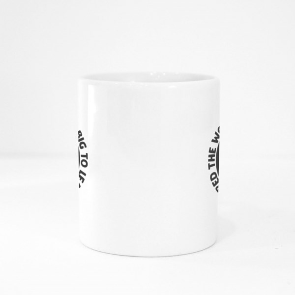 The World Is Too Big Colour Mugs