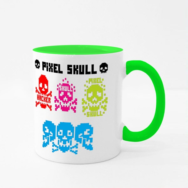 Digital Skull, Pixel 彩色杯