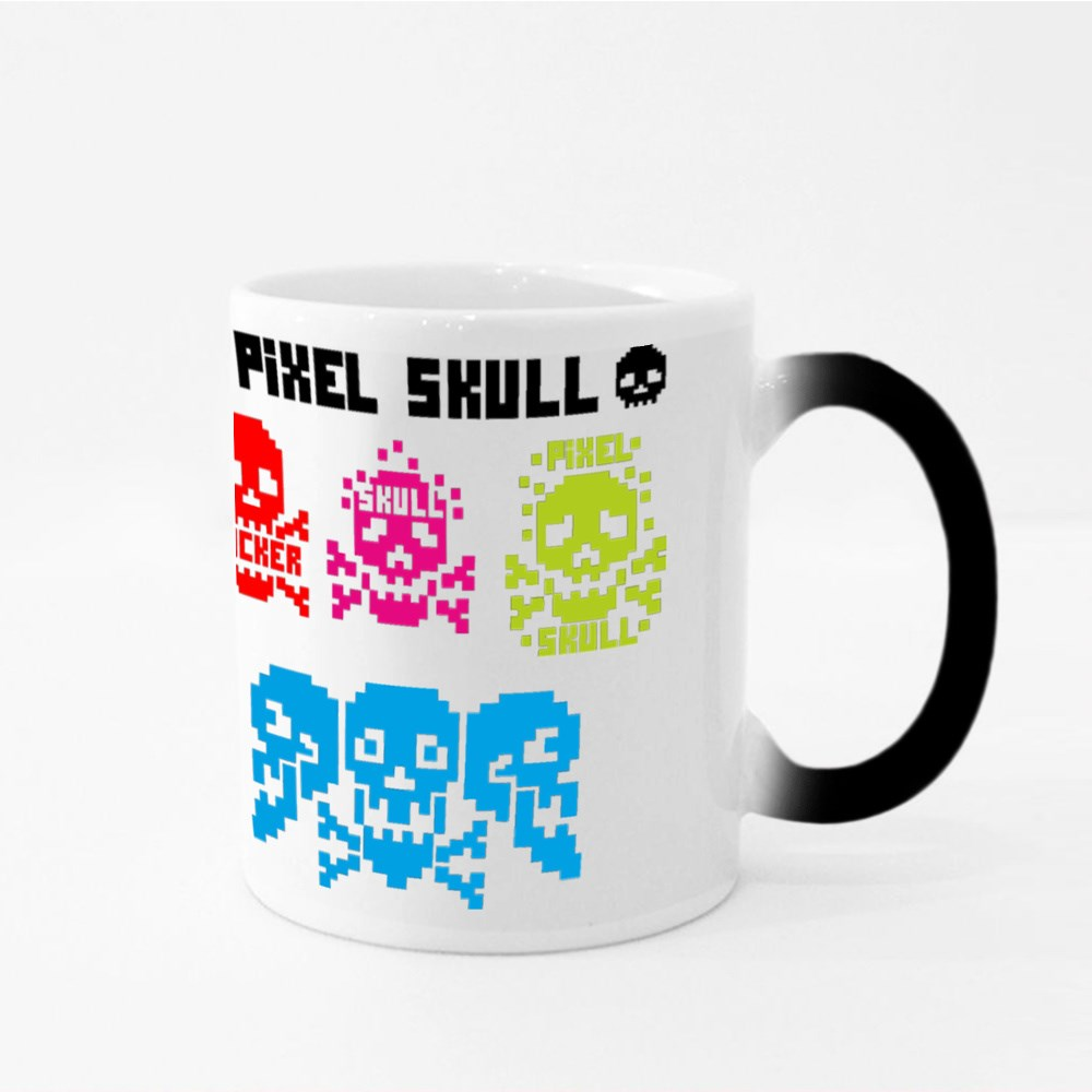 Digital Skull, Pixel Magic Mugs