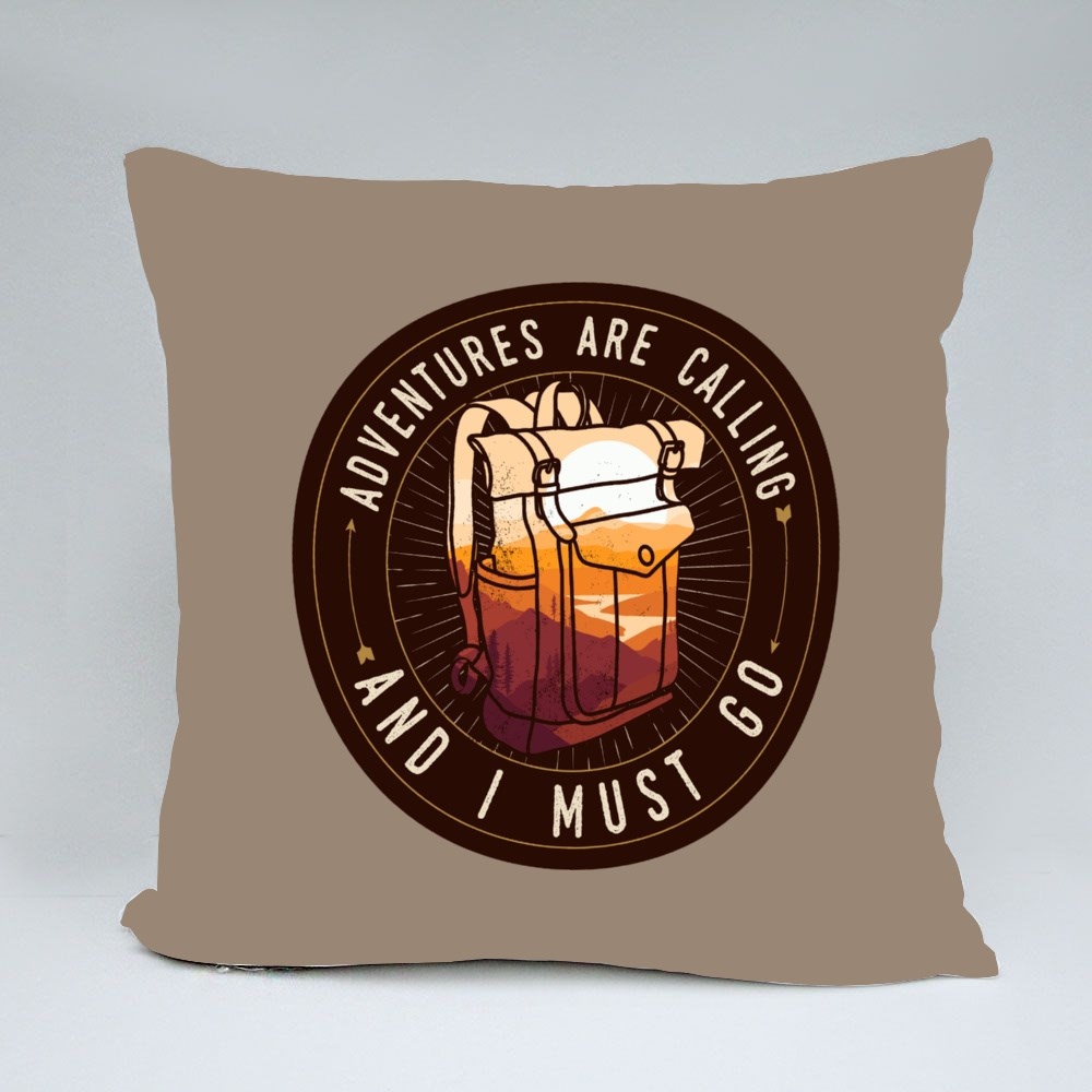 Adventure Are Calling Throw Pillows
