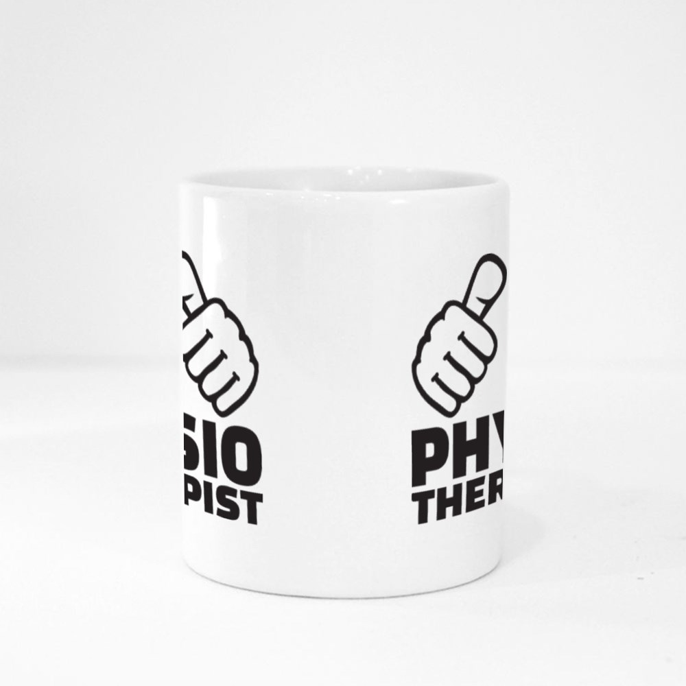 Physiotherapist With Thumbs Magic Mugs