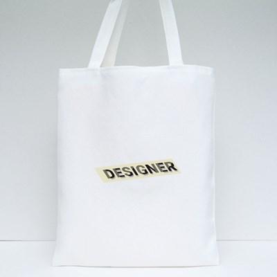 Shining Name Tag Tote Bags