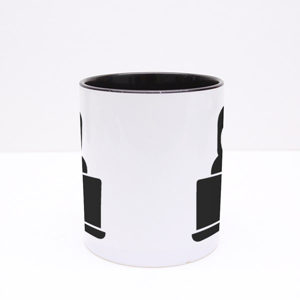 Theft and Network Security Colour Mugs