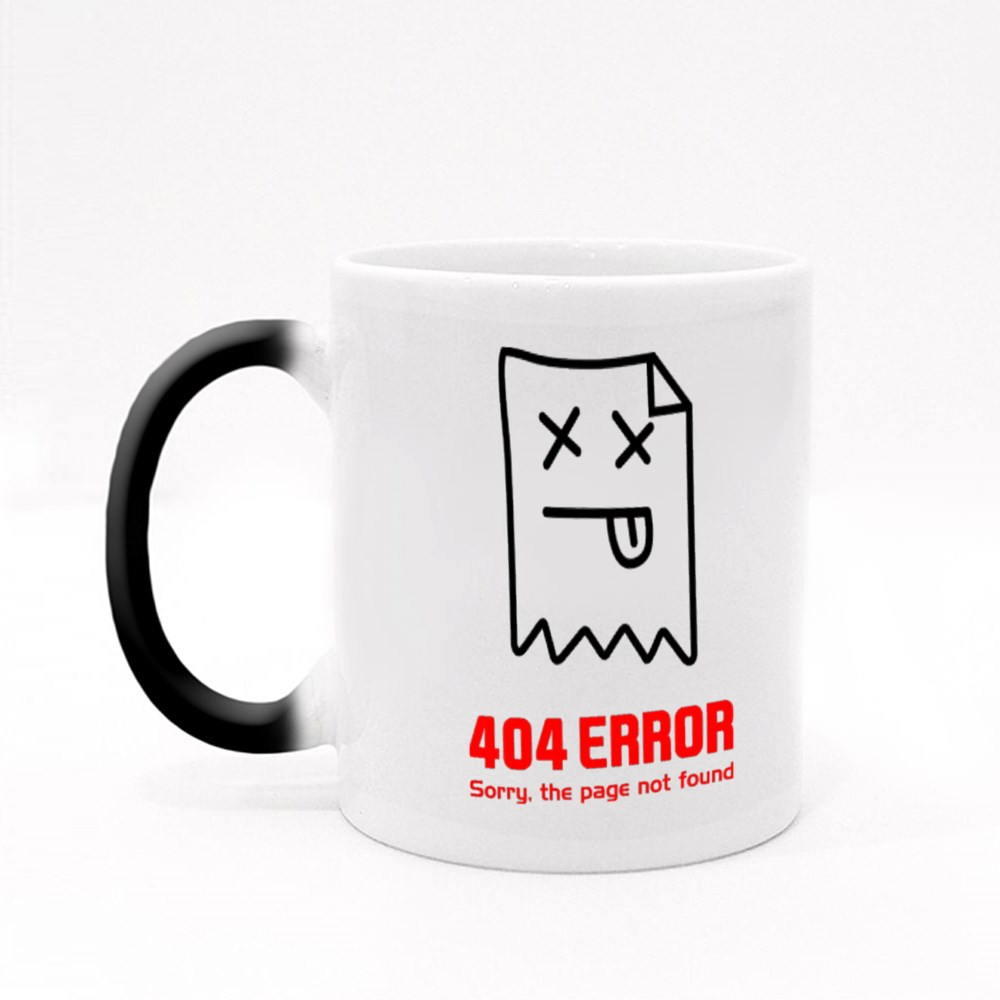 404 Error. Page Not Found Magic Mugs