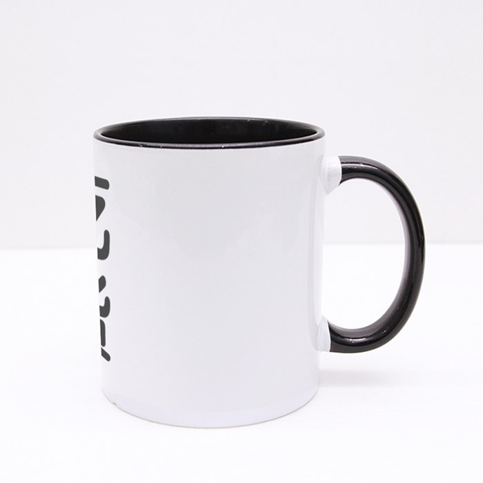 Chinese Character of Foodie 吃货 Like to Eat Delicious Food Colour Mugs