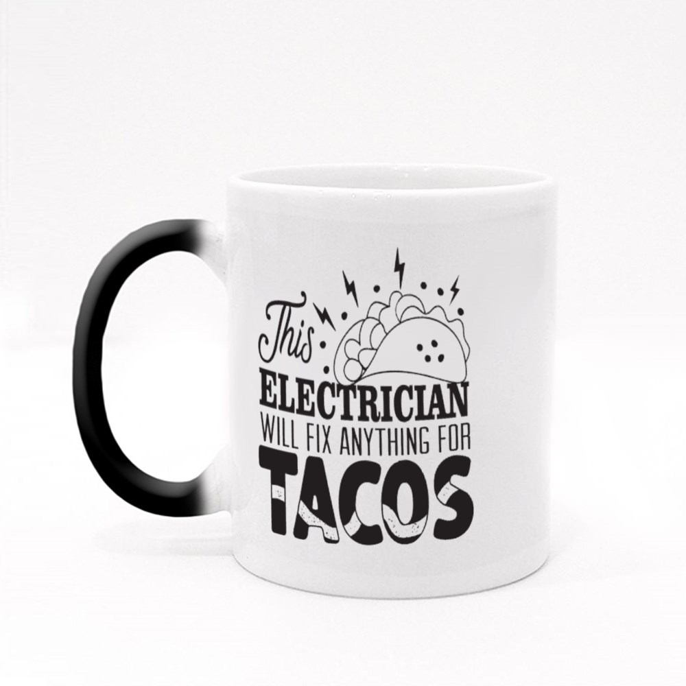 Electrician Will Fix Anything Magic Mugs