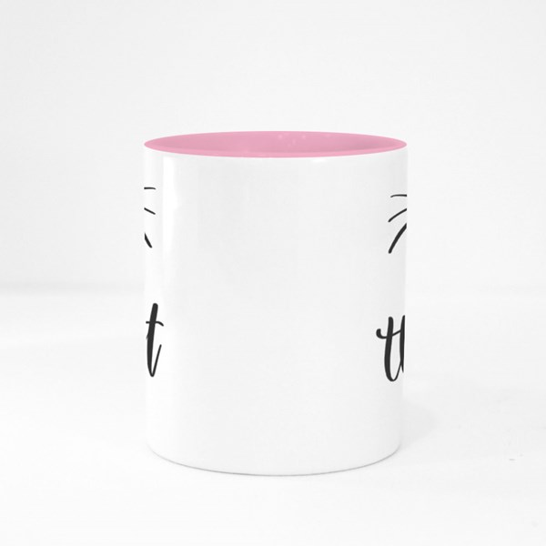 Cat Is the Best Therapist Colour Mugs