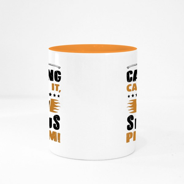 If Camping Can't Fix It Colour Mugs