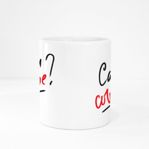 Can You Cover Me? Colour Mugs