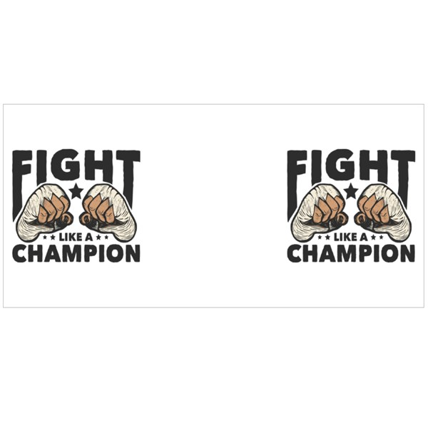 Fight Like a Champion Colour Mugs