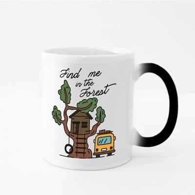 Find Me in the Forest Magic Mugs