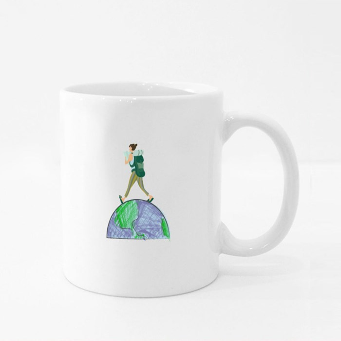 Globetrotter Girl Colour Mugs