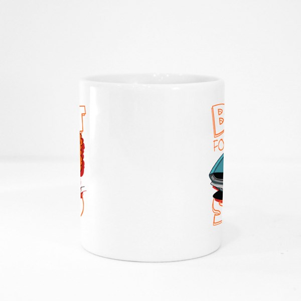 Cool Monster Riding Colour Mugs