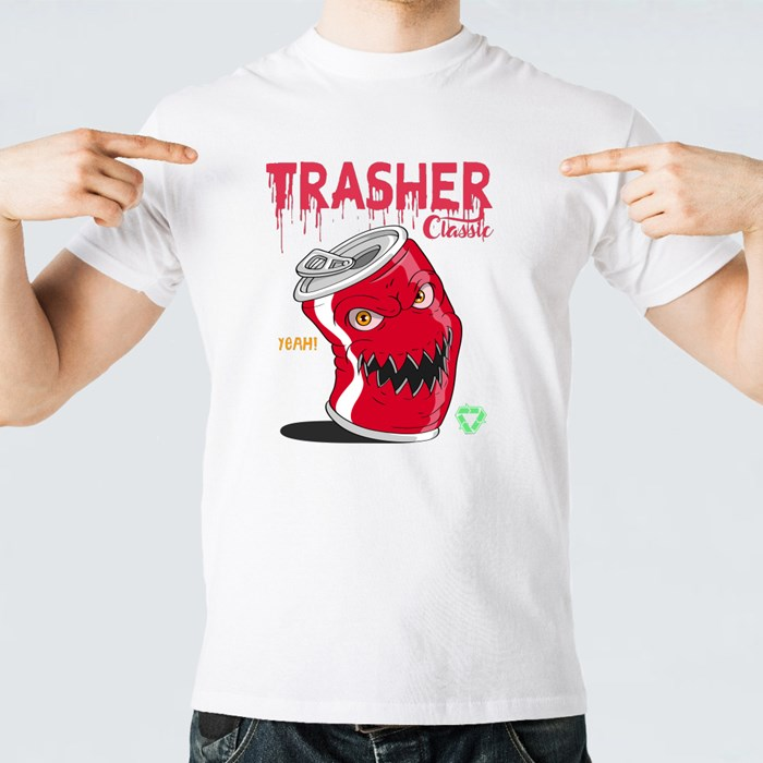 Angry Soda Cans T-Shirts