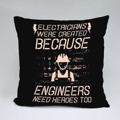Engineers Need Heroes 抱枕