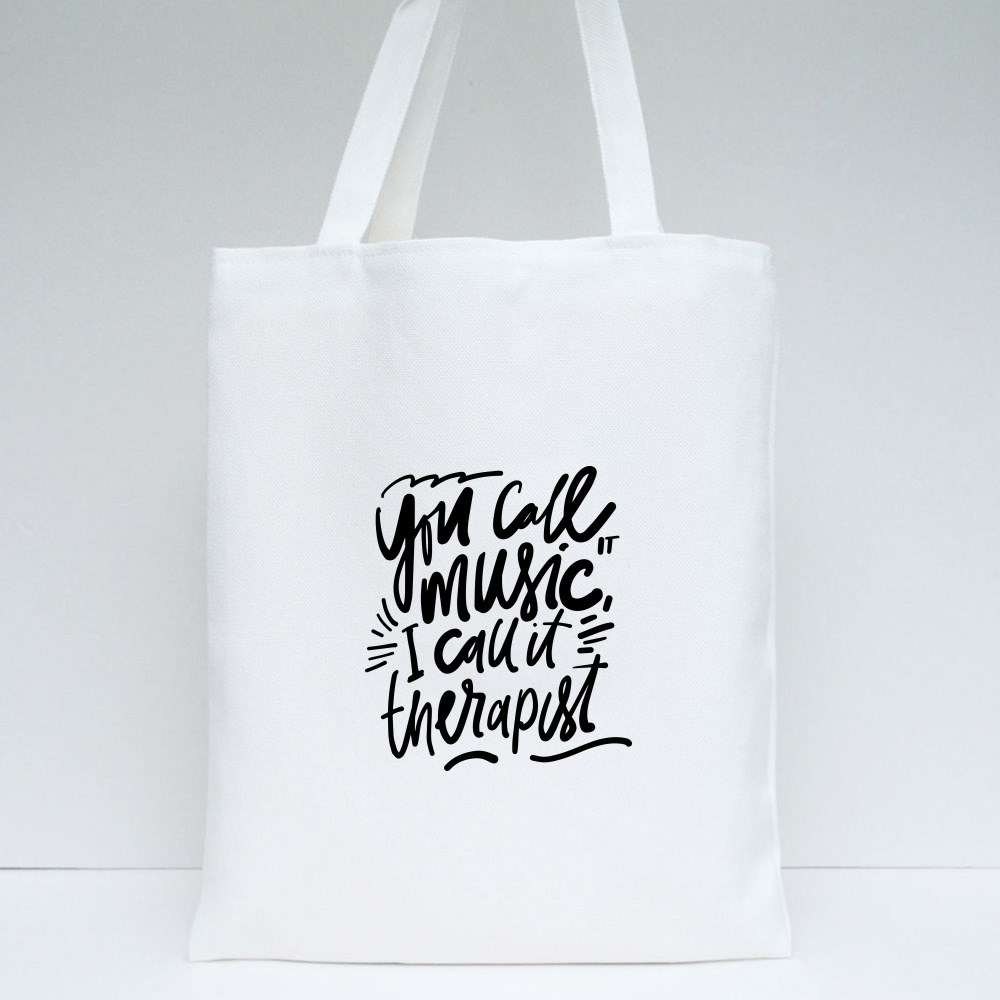 I Call It Therapist Tote Bags