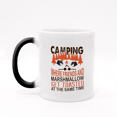 Where Friend and Marshmallow Magic Mugs