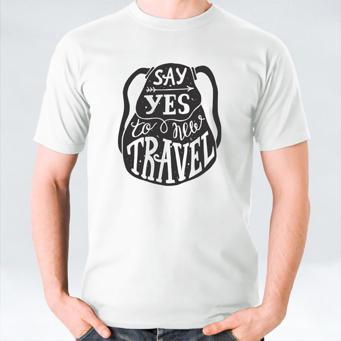 Say Yes to New Travel T-Shirts